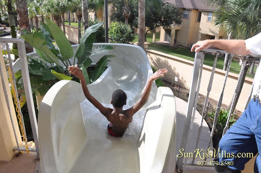 Regal Palms Resort Water Park Slide