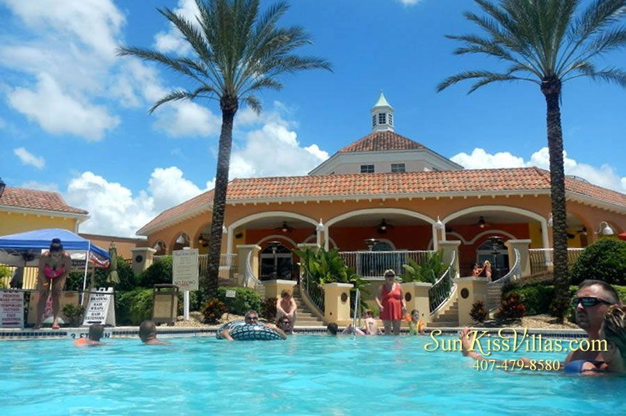 Regal Palms Resort Pool and Clubhouse