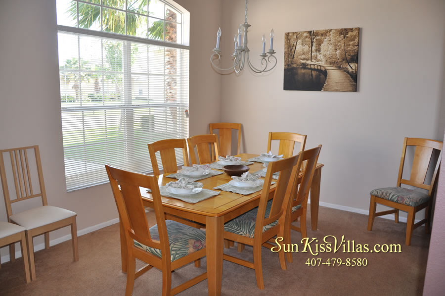 Disney Villa Rental - Sunrise - Dining