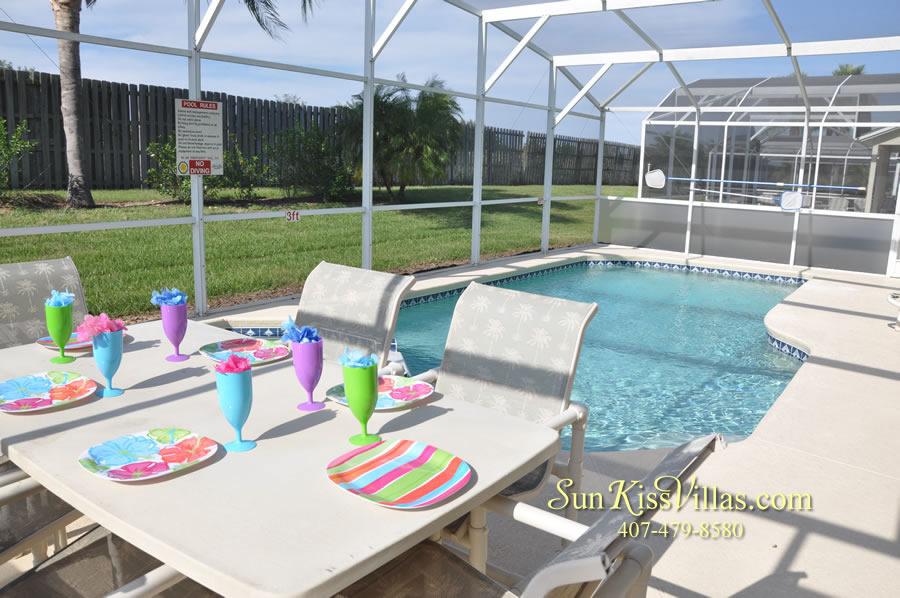 Disney Villa Rental - Sunrise - Pool