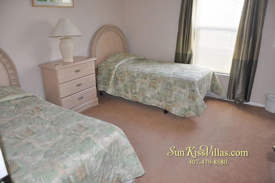 Disney Villa Rental - Sunrise - Twin Bedroom