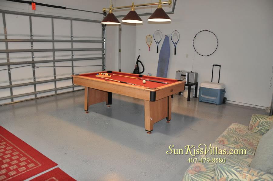 Disney Villa Rental - Sunrise - Game Room
