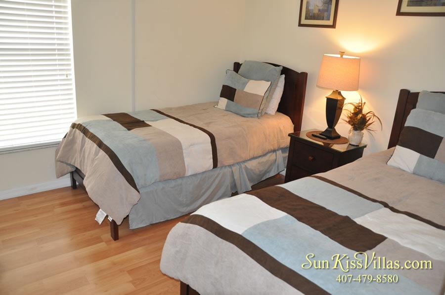 Treasure Cove - Disney Vacation Rental Solana - Twin Bedroom
