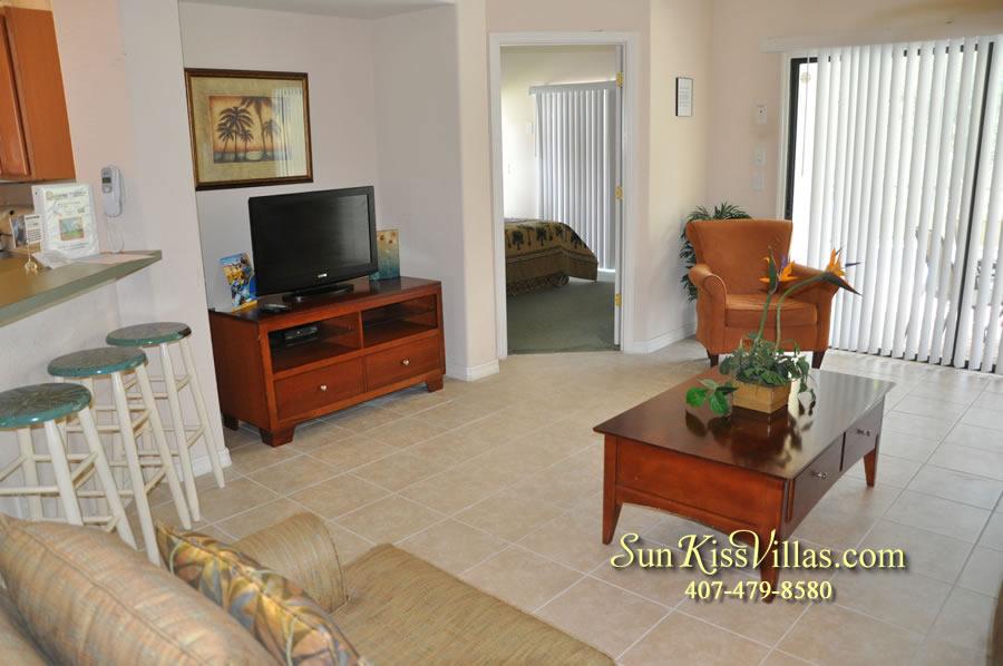 Disney Villa Rental - Tuscan Sun - Family Room