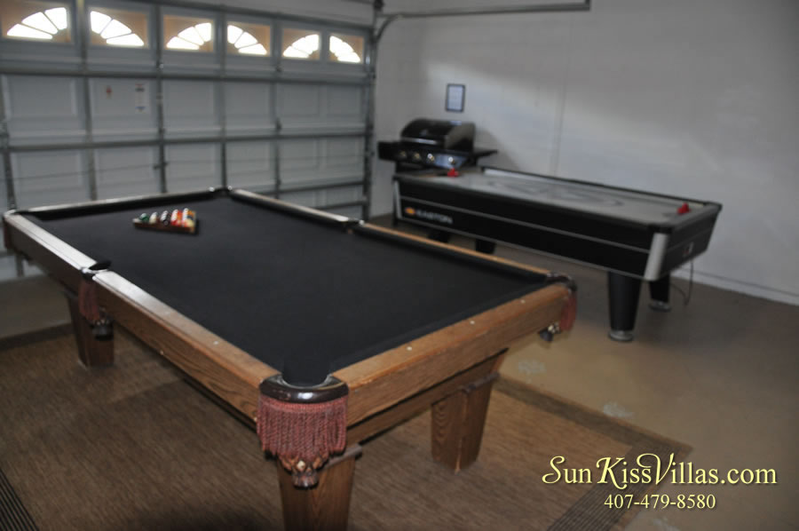 Vacation Villa Rental Near Disney - Emerald Cove - Game Room