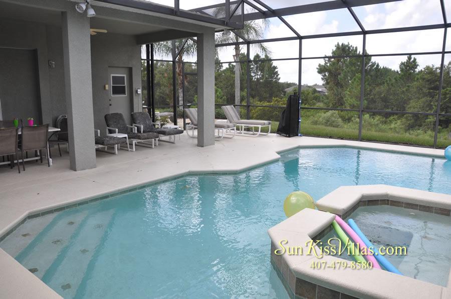 Disney Villa Rental - Heron Bay - Pool and Spa