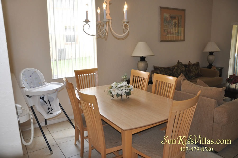 Vacation Townhouse Rental Disney - Trade Winds - Dining