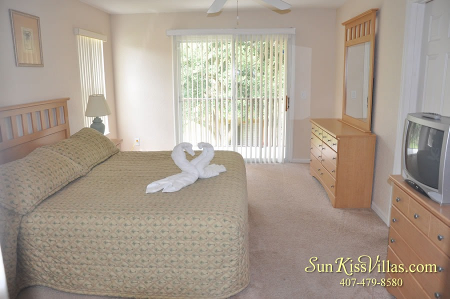 Vacation Townhouse Rental Disney - Trade Winds - Master Bedroom