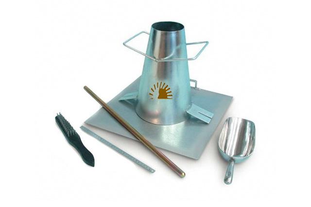 Slump Test Apparatus Sun Labtek Equipments I Pvt Ltd