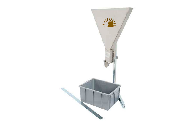 V-funnel test apparatus