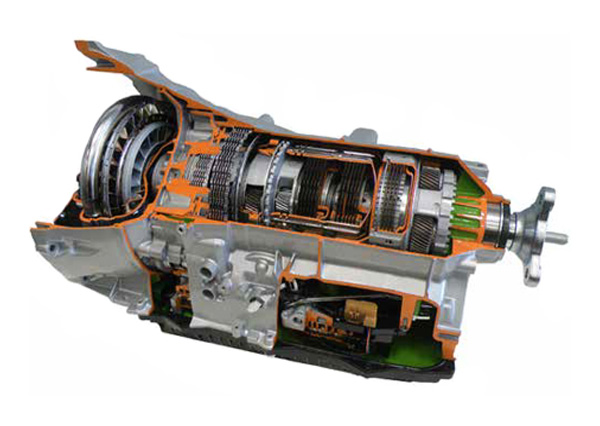 Cut Model Of Automatic Transmission System