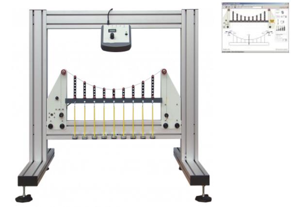 Simple Suspension Bridge Experiment With Data Acquisition