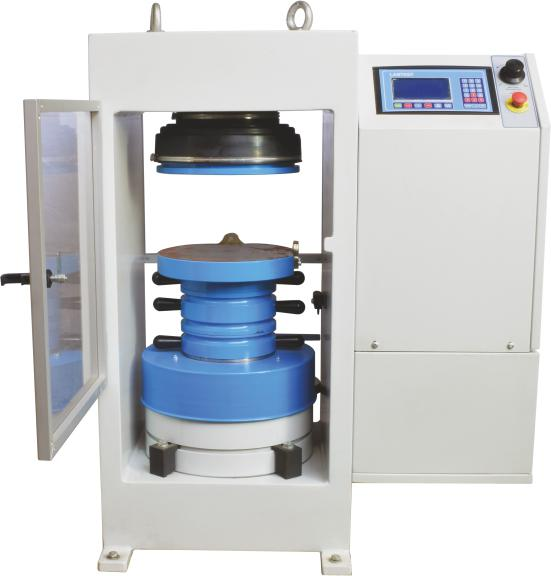 Automatic digital compression testing machine