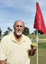 Frank Gaudioso finally gets his first hole-in-one!