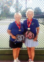 Bev Schalin and Bev Krueger brought home the Silver from the 2014 Nationals!