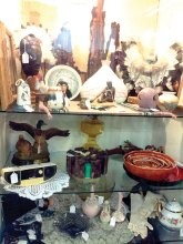 Sun Lakes Women's Association expands its sales with a curio cabinet at the Merchant Square! Stop by 1509 N Arizona Ave and check out booth no. 75. Some of our smaller, most interesting donations can be purchased there all year round.