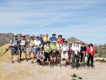 Sun Lakes hikers enjoying desert hiking.