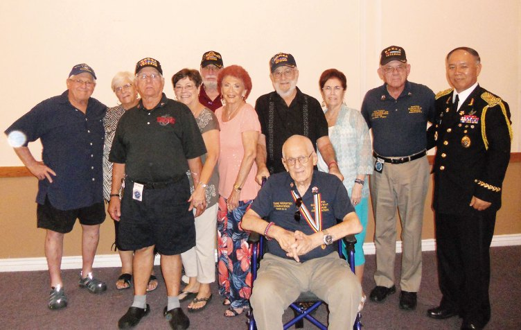 Ten Sun Lakers attended the 63rd annual Korean Armistice celebration at the Fiesta Fountains restaurant in Mesa put on by the Arizona Korean Society. Those attending were Shirley and Jesse Gersten, Viv and Art Sloan, Linda and Dorsey Gruver, Kathy and Jay Sanderson, Mick Tucker ad Leon Johnson.