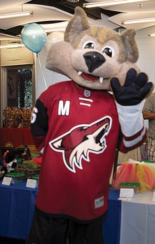 Howler was the special guest at last year's Ataxia Awareness Extravaganza