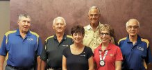 Directors of the Board: Mark Grady, Gary Whiting, Bonnie Whiting, Bill Giessing, Terrie Sanders and Bill McCoach.