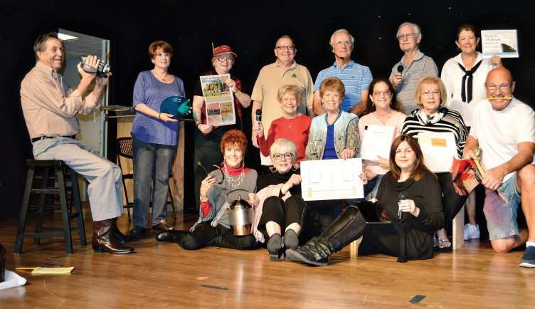 SLCT crew members include Grace Geisinger (Producer), John Crawford (set design), Rick Whitney (assistant and lights), John and Irene Blakely (assistants), Susan Schlesinger (stage manager), Barbie Bergerson (props) Tenni Annen (assistant), Dave Stevens (sound manager), Bob Hollar, Wanda Johnson, Mary Ann Stevens (assistants), Norm Harris (lighting chief), Marcia Stevic (publicity), MJ Clement (programs, posters and lights), Doris Rouleau (house manager), Bud Jennsen (assistant), Jim Nielsen (tickets), Gloria Kelinson (make-up), Sandy Pallett (costume coord.) and Barry Berger (photos), plus many others who volunteer as ushers, ticket sellers, etc.