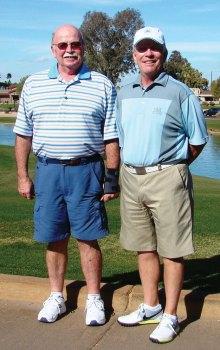 Mark Higgs Gross Champion and Jim Werlinger Net Champion