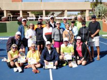 Cottonwood Tennis Club 2017 Mixed Doubles Champions