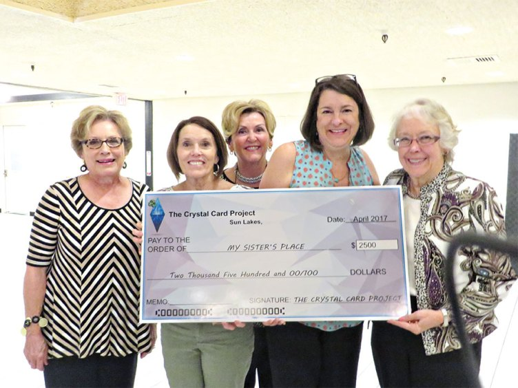 Kathy Skrei, Joyce Chadwell, Charlene Petragallo, Dawn Curtis and Bobbie Reed 