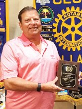 Rotarian of the Year Chuck Deuth