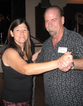 Basic Social Dance students Wayne and Laurie
