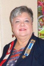 Lesley Baran, Gila Butte DAR Regent