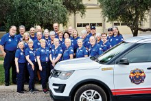 The Arizona Fire & Medical Authority Fire Corps Community Assistance Program celebrates its 18th anniversary this month and continues providing service to the Sun Lakes community and assistance to the firefighters and medics of AFMA. (Photo by Mikayla Sedgwick)