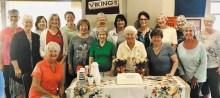 First row (left to right): Irene Anderson, Bev Jur, Verla Matuschka, Joanne Brown, Bunny Lunberry, Sheila Barton. Back row (left to right): Jackie Aagaard, Susan Geis, Sharon Fratiello, Roz Pederson, Rosie Raisanen, Liz Tollefsen, Linda Stimart, Jeanne Norton, Mary Bohran, Sonja White, Donna Sullivan