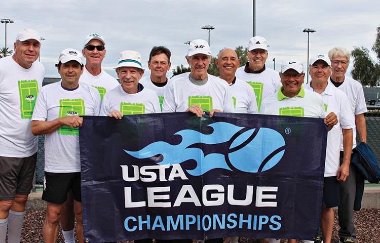 IronOaks Men's Tennis Team 2020