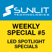 Sunlit Weekly-Specials - LED Spotlight Specials