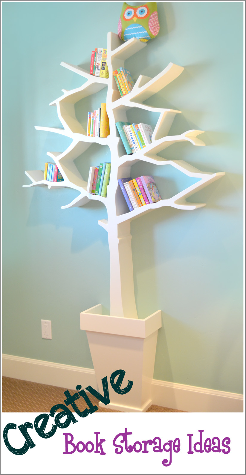 Creative Book Storage/Organization Ideas