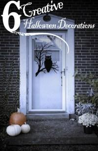 6 Creative Halloween Decorations