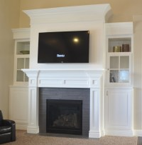 How to Build Your Own Fireplace Mantel - Sunlit Spaces