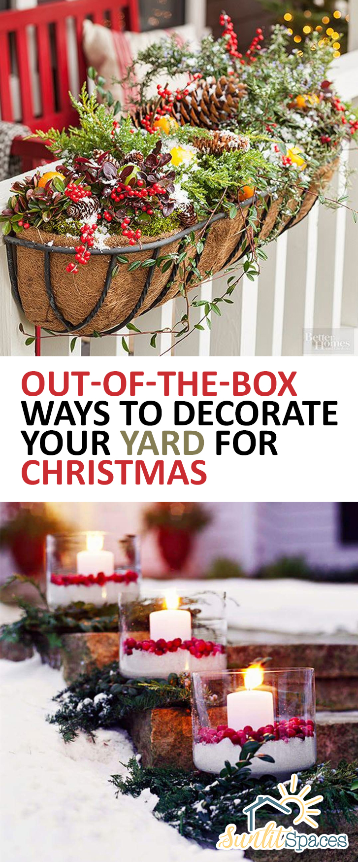 OutoftheBox Ways to Decorate Your Yard for Christmas