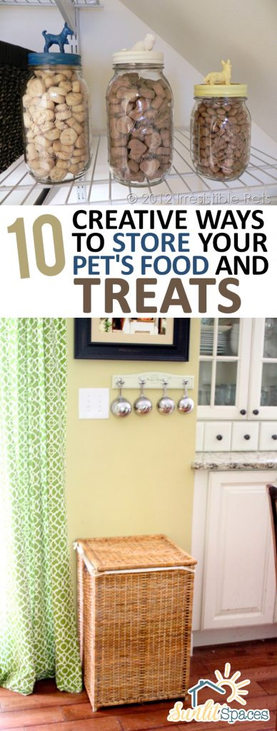 10 Creative Ways to Store Your Pets Food and Treats