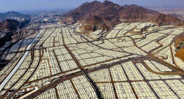 Долина Мина во время хаджа