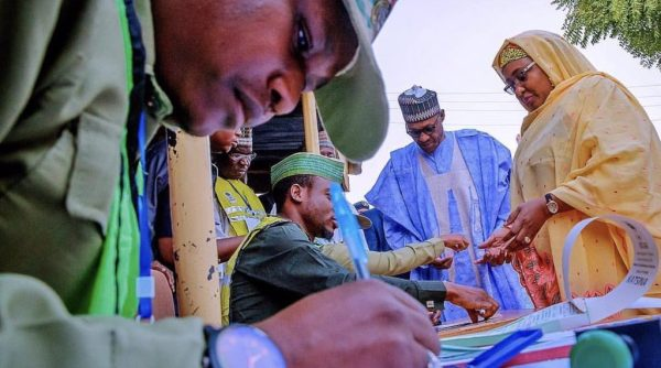 Buhari leading in vote count in Borno