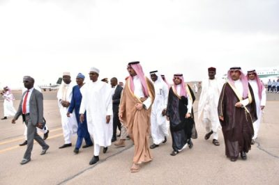 Photos and Video: Buhari in Saudi Arabia