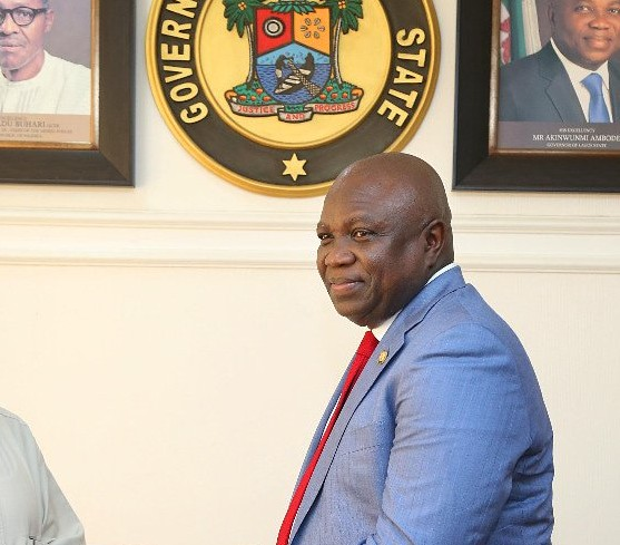 Image result for I'm leaving office happy, wiser says Ambode