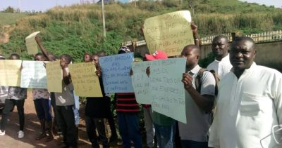 Plateau PDP youths protest in Jos, seek reinstatement of party chairman