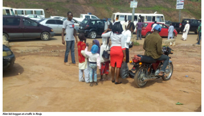Cross border beggars swoop on Abuja