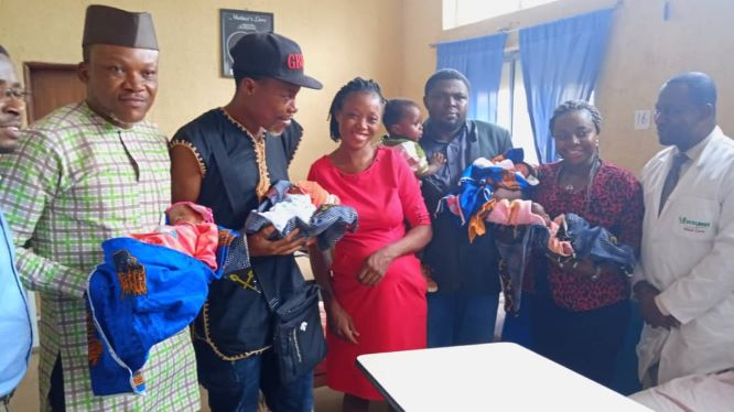 Ugwuanyi's aide pays medical bills of woman delivered of quadruplets