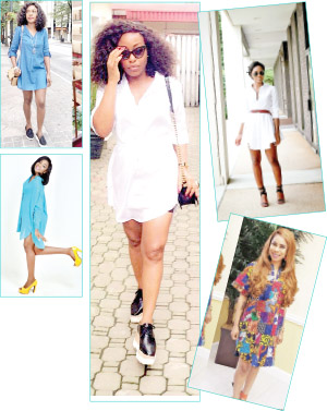 Wear your shirtdress stylishly
