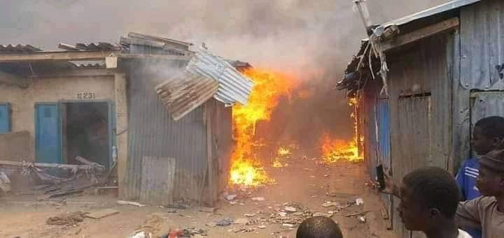 Sokoto traders count losses as inferno wrecks central market