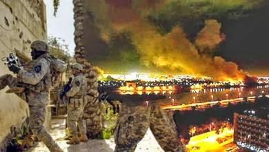 صورة السقوط المدوي في الذكرى العاشرة للاحتلال